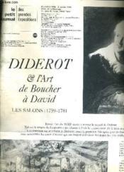 Le Petit Jurnal Des Grandes Expositions B- Hotel De La Monnaie - 9 Octobre 1984 6 Janvier 1985 - Diderot Et L'Art Du Boucher A David Les Salons 1759-1781. - Couverture - Format classique