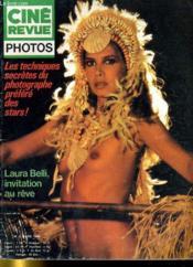 Cine Revue - Photos - 60e Annee - N°2 - Les Techniques Secretes Du Photographe Prefere Des Stars! - Couverture - Format classique
