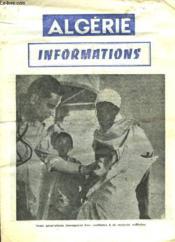 Algerie Informations - Couverture - Format classique