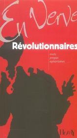 Vente  Revolutionnaires en verve  - David Alliot