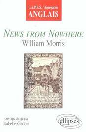 News From Nowhere William Morris Capes Agregation Anglais - Intérieur - Format classique