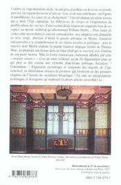 News From Nowhere William Morris Capes Agregation Anglais - 4ème de couverture - Format classique