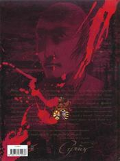 La Malle Ecarlate - 4ème de couverture - Format classique