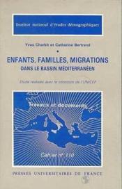Enfants Familles Migrations Bass.Med - Couverture - Format classique