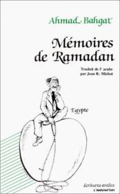 Mémoires de Ramadan - Couverture - Format classique