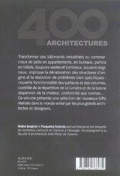 Lofts t.2 - 4ème de couverture - Format classique