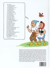 Sylvain et Sylvette t.15 ; la forêt en danger - 4ème de couverture - Format classique