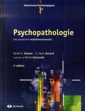Psychopathologie - Intérieur - Format classique