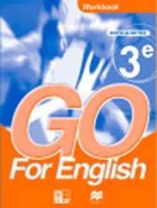 Go For English 3e / Livret D'Activites - Couverture - Format classique