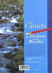 Carnets Du Pecheur A La Mouche (Les) - 4ème de couverture - Format classique