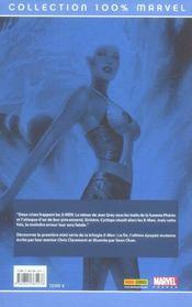 X-men t.4 ; la fin, rêveurs et démons - 4ème de couverture - Format classique