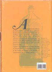 L'huile d'olive. - 4ème de couverture - Format classique