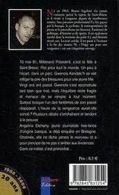 Vingt Ans Pour Une Vengeance - 4ème de couverture - Format classique