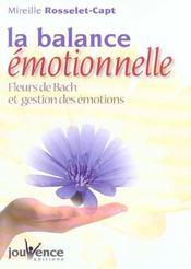 Balance emotionnelle (la) - Intérieur - Format classique