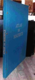 Atlas Maurice. - Couverture - Format classique