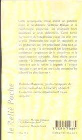 C.G. Jung et la sagesse tibetaine - 4ème de couverture - Format classique
