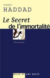 Le Secret De L'Immortalite - Couverture - Format classique
