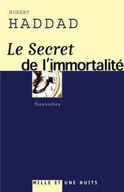 Le Secret De L'Immortalite - Intérieur - Format classique