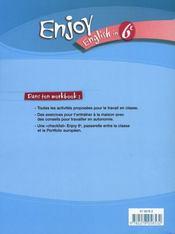 6ème ; workbook (édition 2006) - 4ème de couverture - Format classique