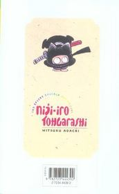 Niji-iro tohgarashi t.6 - 4ème de couverture - Format classique