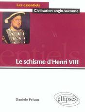 Le Schisme D'Henri Viii - Intérieur - Format classique
