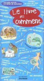 Le livre des comment - Intérieur - Format classique