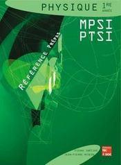 Sciences physiques 1ere annee mpsi & ptsi - Intérieur - Format classique