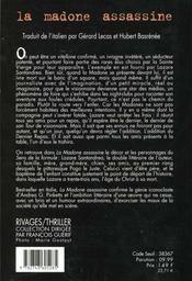 La madonne assassine - 4ème de couverture - Format classique