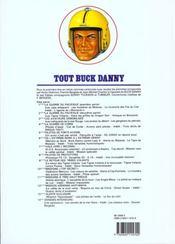 Tout buck danny t.11 ; missions a tres haut risque - 4ème de couverture - Format classique