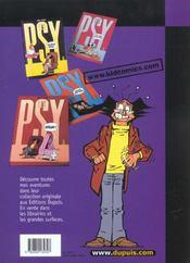 Les Psy T.6 ; Eh Bien, Voila - 4ème de couverture - Format classique