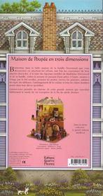 La maison de poupee - 4ème de couverture - Format classique
