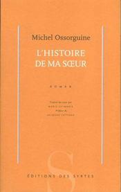 Histoire De Ma Soeur - Intérieur - Format classique