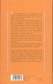 Histoire De Ma Soeur - 4ème de couverture - Format classique