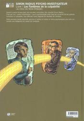 Les Fantomes De La Culpabilite - 4ème de couverture - Format classique