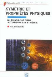 Symetrie Et Proprietes Physiques - Intérieur - Format classique
