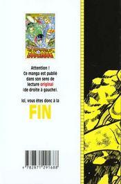 Les chevaliers du zodiaque t.9 - 4ème de couverture - Format classique