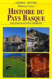 Histoire du Pays Basque - Couverture - Format classique