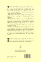 Ponson Du Terrail - 4ème de couverture - Format classique