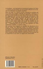 Le Soufisme ; La Mystique De L'Islam - 4ème de couverture - Format classique