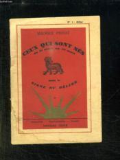 Ceux Qui Sont Nes Sous Le Signe Du Belier. - Couverture - Format classique