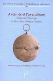 Averroes Et L'Averroisme - Intérieur - Format classique