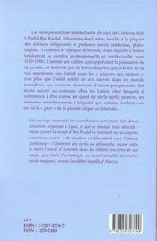 Averroes Et L'Averroisme - 4ème de couverture - Format classique