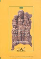 Les figurines en terre cuite gallo-romaines - Couverture - Format classique