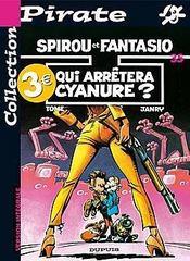 Spirou et Fantasio t.35 ; qui arrêtera Cyanure - Intérieur - Format classique