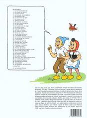 Sylvain et Sylvette t.14 ; la grande épreuve - 4ème de couverture - Format classique