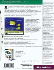 Windows Nt 4.0 Kit De Formation Support Technique - 4ème de couverture - Format classique