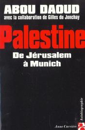 Palestine de jerusalem a munic - Intérieur - Format classique