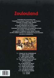 Zoulouland t.15 ; Ulundi - 4ème de couverture - Format classique