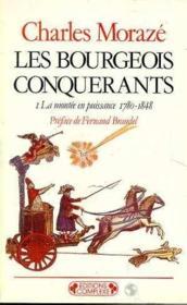 Les bourgeois conquerants t 1 - Couverture - Format classique
