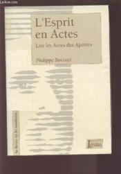 Esprit L En Actes - Couverture - Format classique
